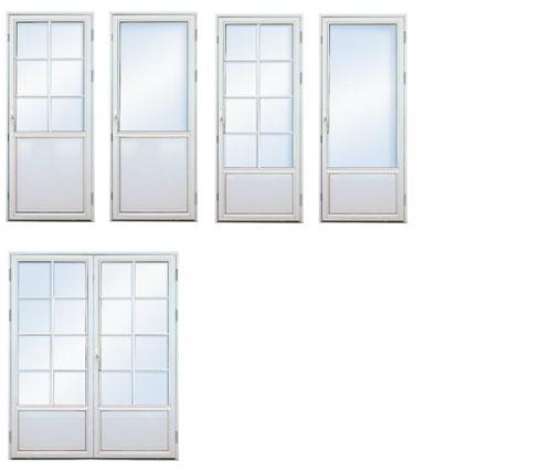 Dobbel verandadør pris