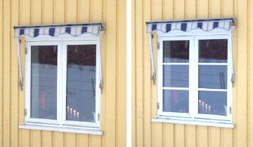 Løse sprosser til vindu